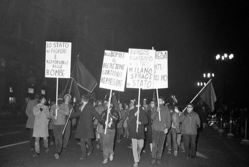 italia 1970 manifestazione