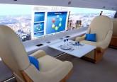 interni aereo supersonico