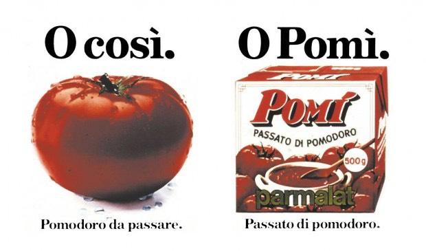 La pubblicità per la passata di pomodoro Parmalat