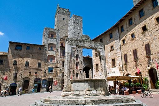 San Gimignano italia