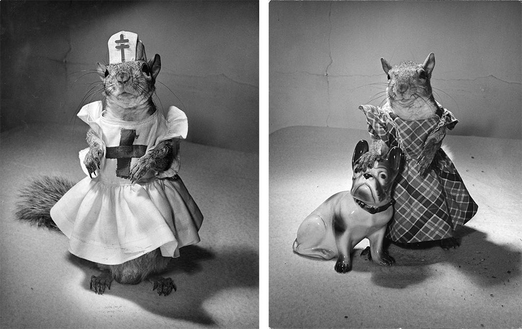 Left: Tommy Tucker, 1944. Right: Tommy Tucker, 1944.