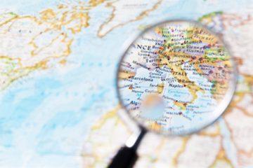 Cartina geografica Italia