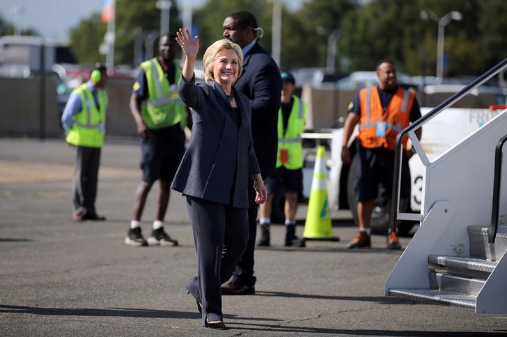 Clinton campagna elettorale