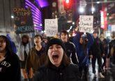 america proteste contro trump