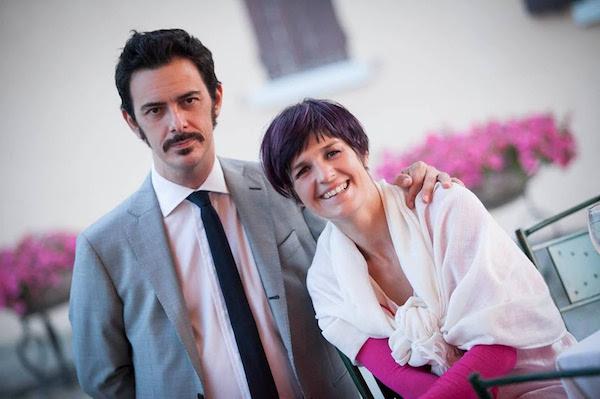 Chiara Gianotti con il marito Jerome Bonardi