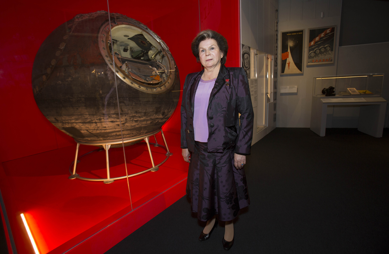 Cosmonauts Exhibition Launch PIX.Tim Anderson