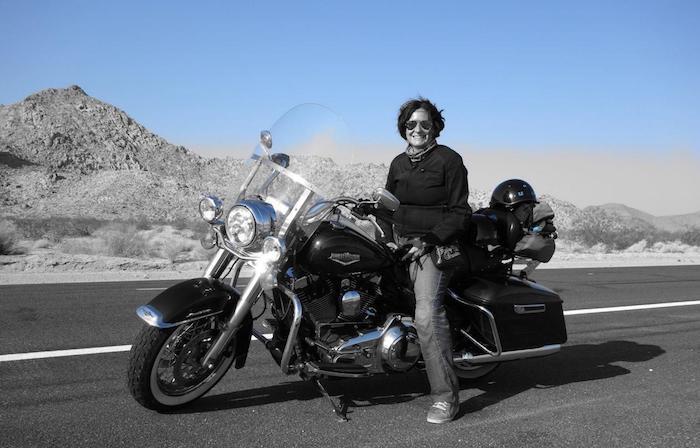 Samantha Di Laura_motorbike
