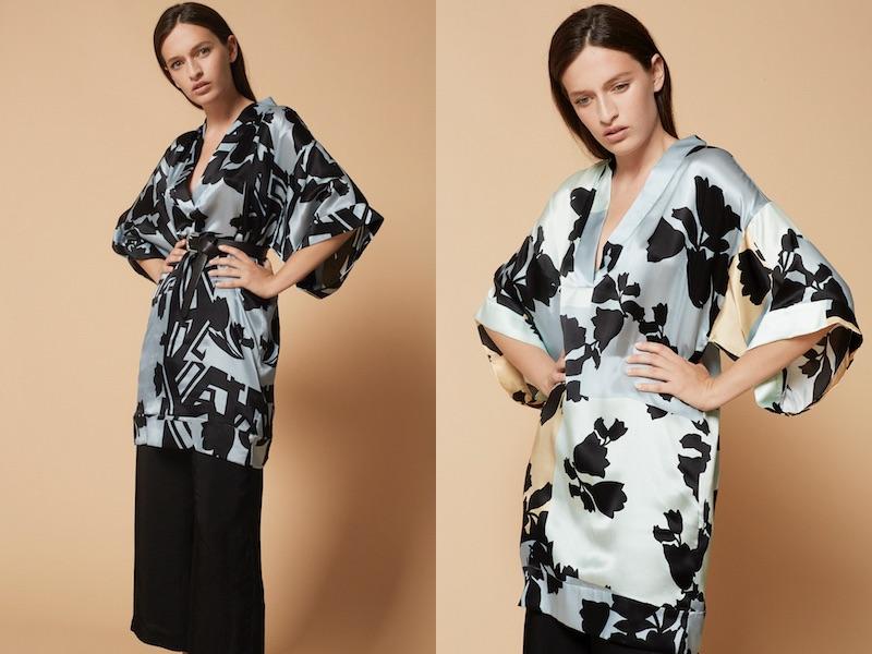 Manila Grace collezionee kimono p-e 2018