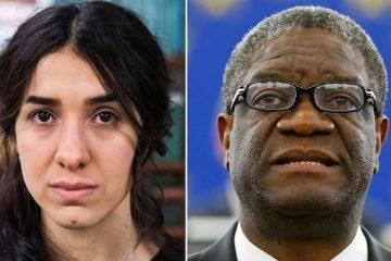 Premio Nobel Nadia Murad e Denis Mukwege